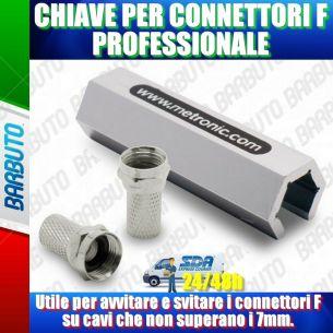 CHIAVE PER CONNETTORI F PROFESSIONALE
